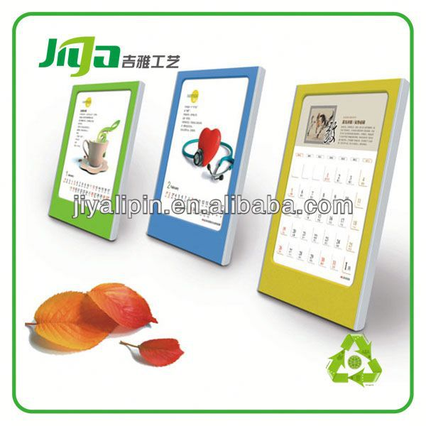digital clock display calendar/desk calendar