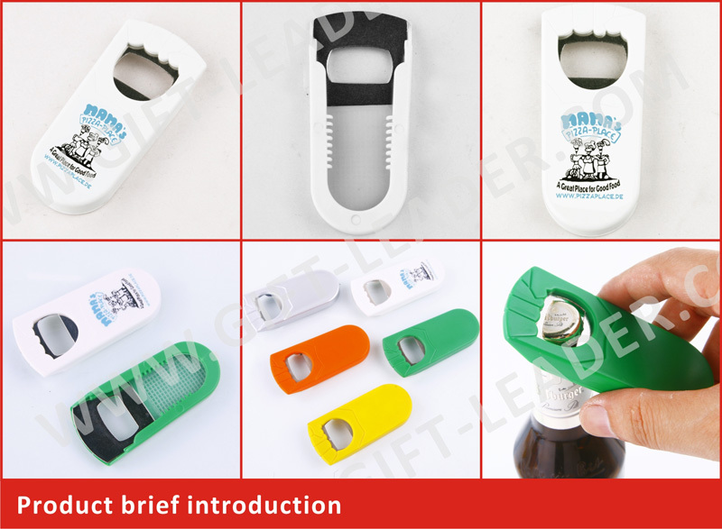 2016 Hot sales promotional plastic pop top bottle opener
