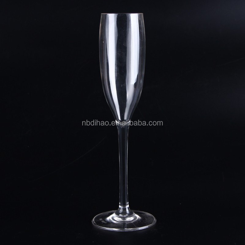 115 ml PC Champagne glass Cup, Unbreakable Polycarbonate, FDA approved
