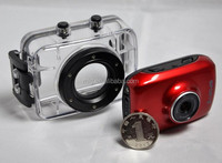 High quality best seller waterproof sport camera, W-c108 high resolution 1080P portable sport action helmet camcorder camera