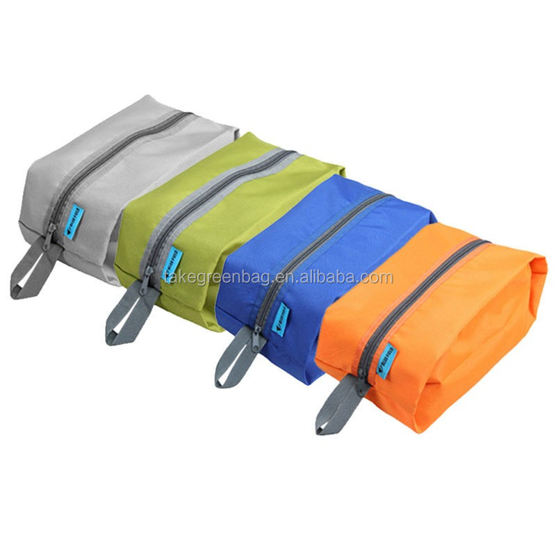 Delicate travel drawstring sports shoe storage bag