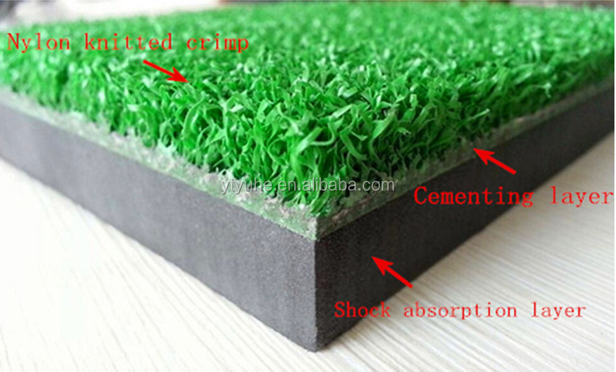 Economic Price Indoor or Outdoor Nylon Knitted Turf Golf Putting Practice Mat