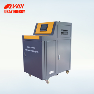 Eco friendly catalytic converter cleaning car wash service station equipment