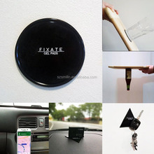 Automobiles Interior Accessories 80mm Round Triangle Sticky Gel Pad Anti Slip Gel Sticky Grip Mat Car Mount Fixate Gel Pad