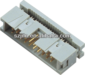 2.54mm box header idc connector for pcb&flat cable