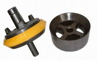 the rubber of stem-guided mud pump valve and seat