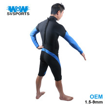 commercial neoprene shorty printed surfing diving wetsuit