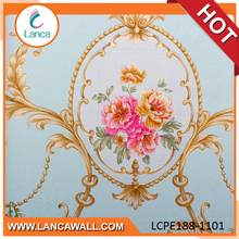 construction material oem flower wallpaper 3d luxury