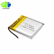 Ultra Thin Tiny 3.7/4.2v Small Lithium Ion rechargeable Battery