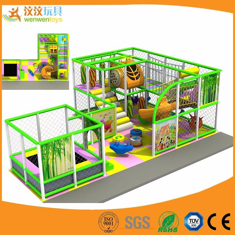 cheap selling day care center indoor soft play equipment