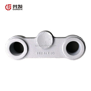 ISO 9001 certification metal sand casting foundry casting ductile iron Axle sleeve