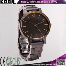 koda eco-friendly natural FSC wood watch with miyota movt from china watch factory
