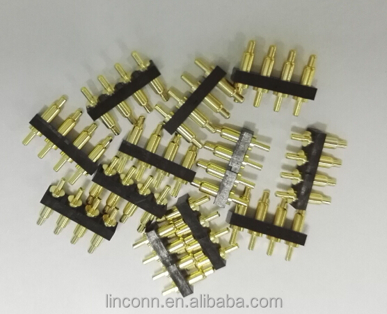 Brass spring loaded power electrical contact pins pogo pin test probe pins connector plug and jack