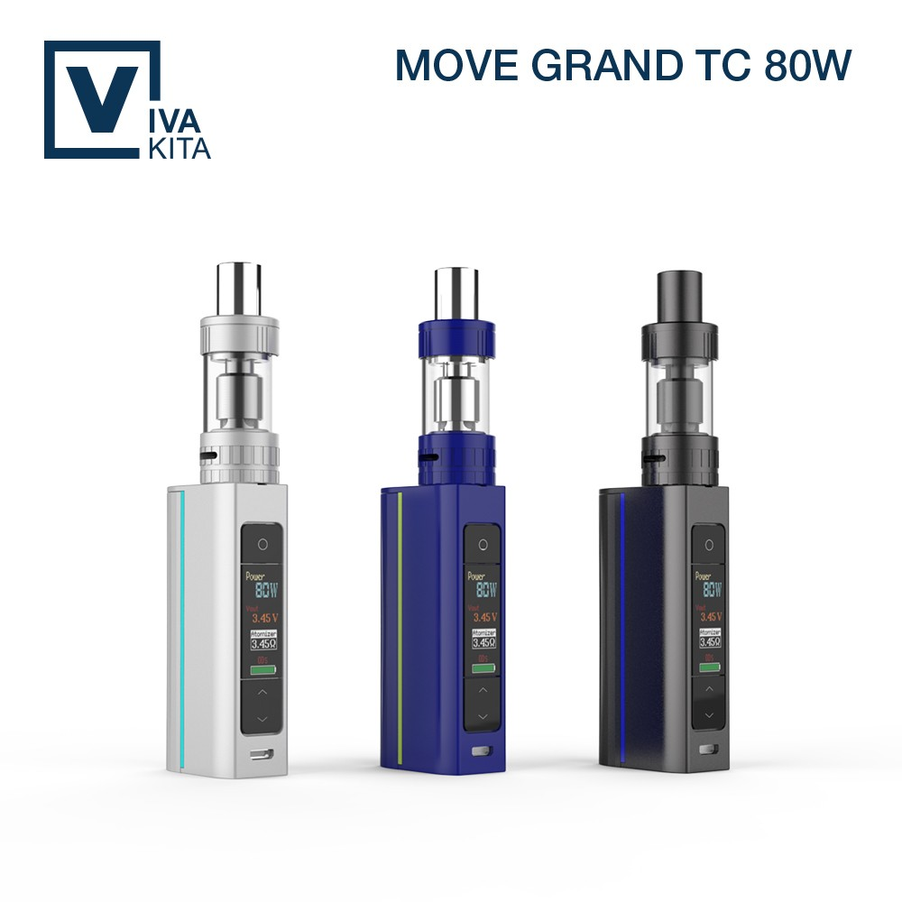 Bulk purchase elektro shisha 80W TC mod box vapor sigaretta elettronica