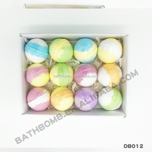 Wholesale Essential Oil Factory Packaging Natural Colorful vegan bath bombs holiday gift set