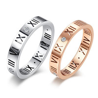 Wholesale Titanium Rings For Couples 316L