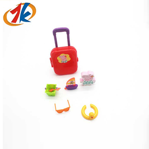 Wholesale Mini Promotion Gifts Educational Traveling Toy Suitcase For Kids