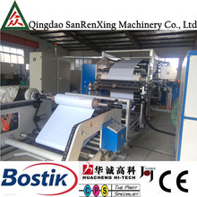 Fully automatic hot melt glue laminate coating machine for thermal film laminating