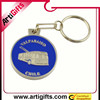 New fashion products italy metal keychain souvenir