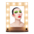 Professional Led Lighting Makeup Mirror,Lighted Makeup Mirror,Folding Makeup Mirror With Aluminum Frame Cosmetic Lighting Mirror