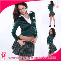 New Arrival sexy air hostess fancy dress costume