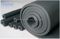 competitive price Anti-fire HVAC pvc nitrile rubber foam heat insulation tube/pipe for air conditioning