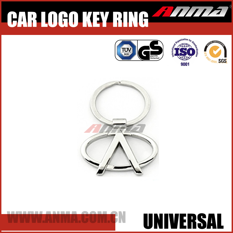 fancy car metal key ring