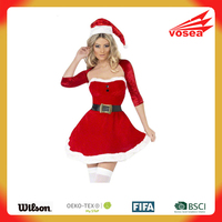 Red Santa Belle Costume christmas eve costume