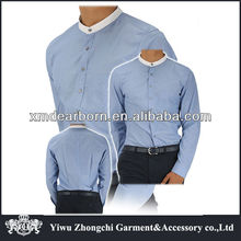 mens stand up collar shirt