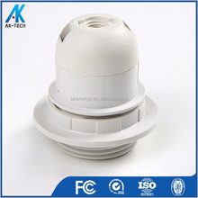 round lamp base plastic lamp holder e27 e26 light socket