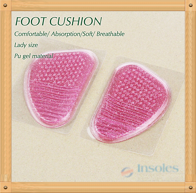 massage pu gel insole forefoot cushion