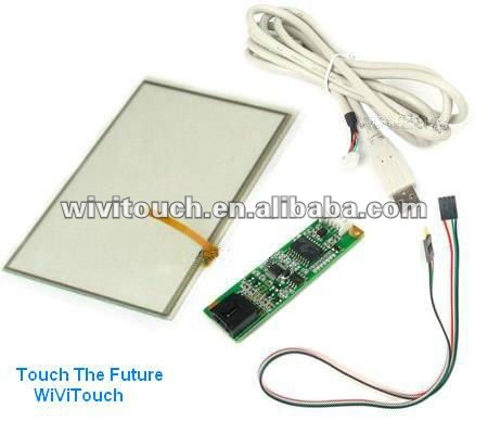 7 inch touch screen panel kit