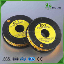 Zhe Jin China Factory Best Price Useful Round Flat Clip Cable Label Markers
