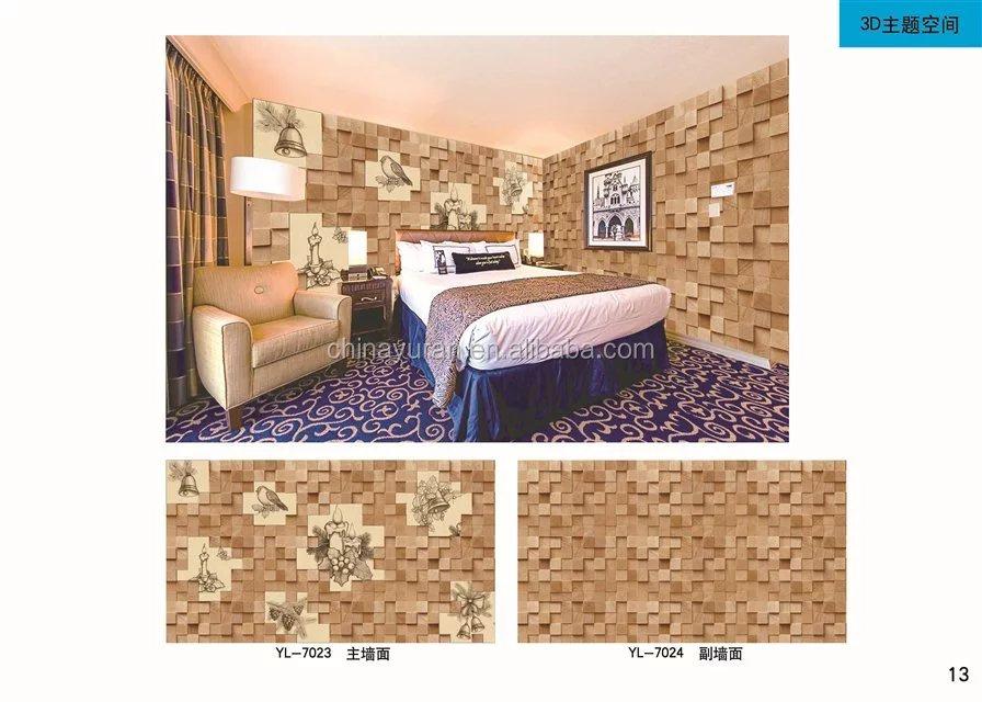 Moderne Tapete Hotel Wohnzimmer Tv Hintergrund Wasserdichte Wand Mantel 3d  Design Wandbild Pvc Tapeten Für Deco