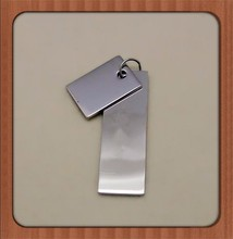 Custom Stainless Steel Charm Tag Personalized logo Engraved Jewelry, Vertical Inspire Word Name Jewelry Tag Pendant Charm