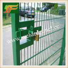 Very Good New products 2016 Hot Sale welded wire mesh panel/pvc coated fence/welded fence