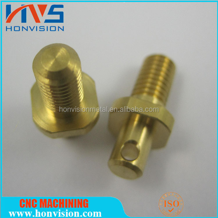 OEM mechanical accessories of CNC machining brass terminal screws
