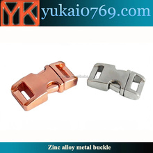 Yukai copper metal bag buckle for handbag/metal leather bag buckle