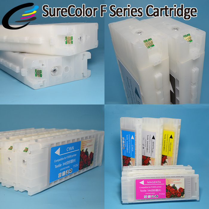 2017 Hot New Products for Epson SureColor F2000 Printer Ink Cartridge with Textile Ink