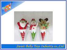 2014 Hot Sale DIY Christmas Plush Decoration Toy For Children,Promotional DIY Christmas Decoration Toy,Christmas Ornament Toy