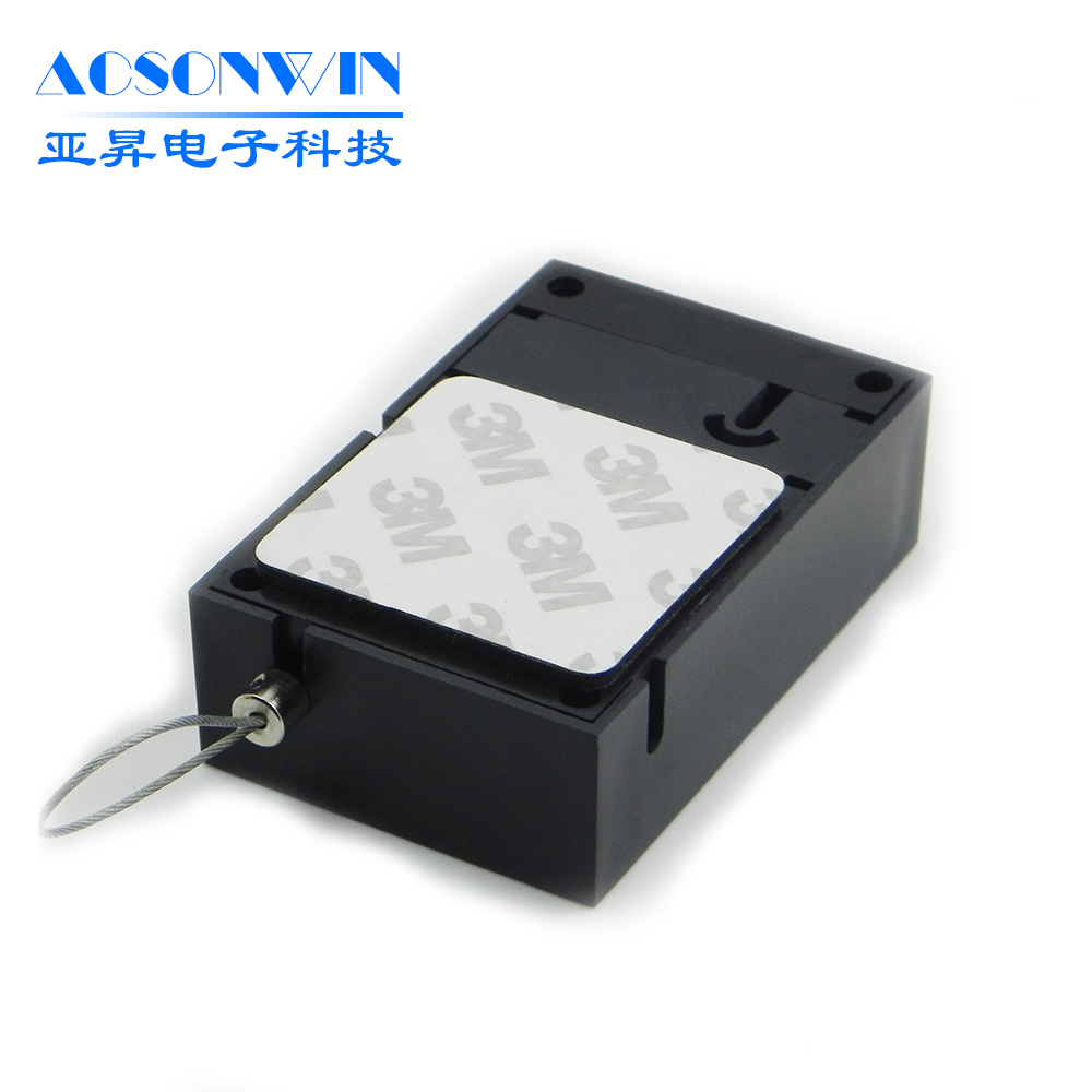 Retractable Security Display Recoiler for Jewelry, Anti-theft Display Pull Box