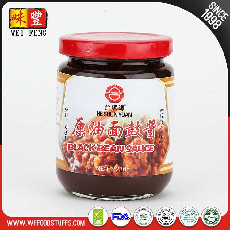 Chinese seasoning HALAL black beans paste soya bean sauce
