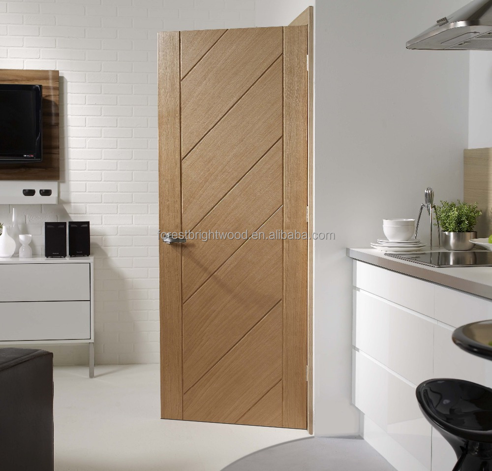 Interior Room Wood Door Pictures Euro Design Flush Wooden Door