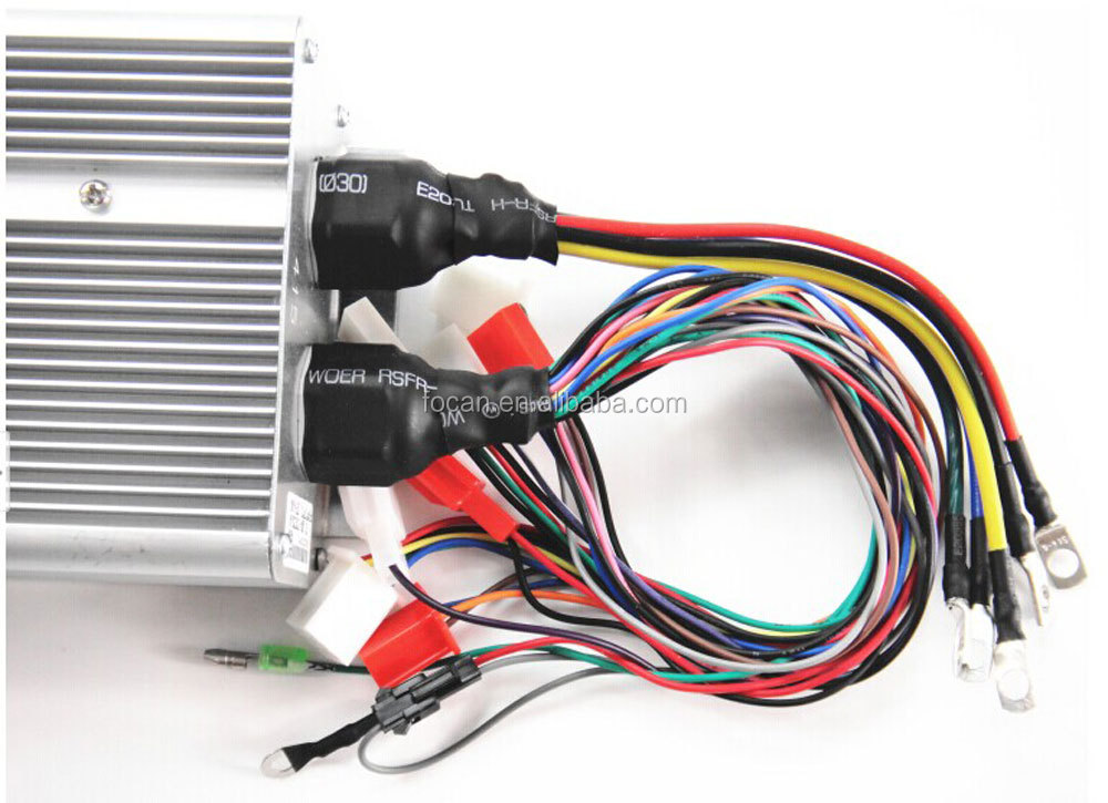 Best 36v 48v 60v 72v 1500w 18 intelligent electric bicycle for 36v dc motor controller