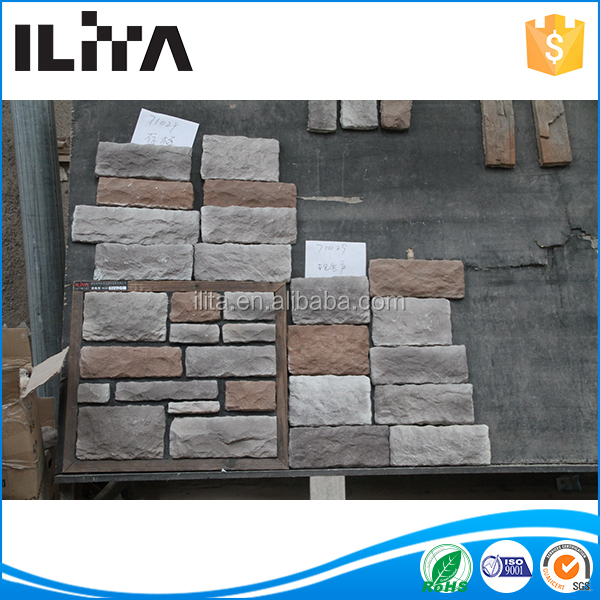 Decorative Garden Paving Stone Mold, Gray Stack Stone, 17 Years Factory
