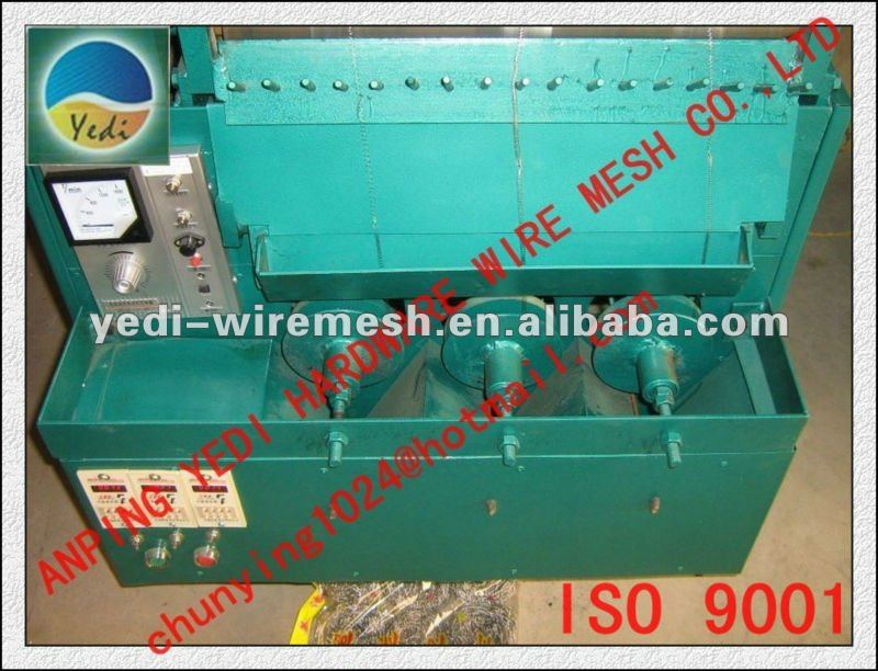 HOT!!!! HOT!!!!! Full Automatic Cutting Mesh Scourer Kniting machine 8613463850722
