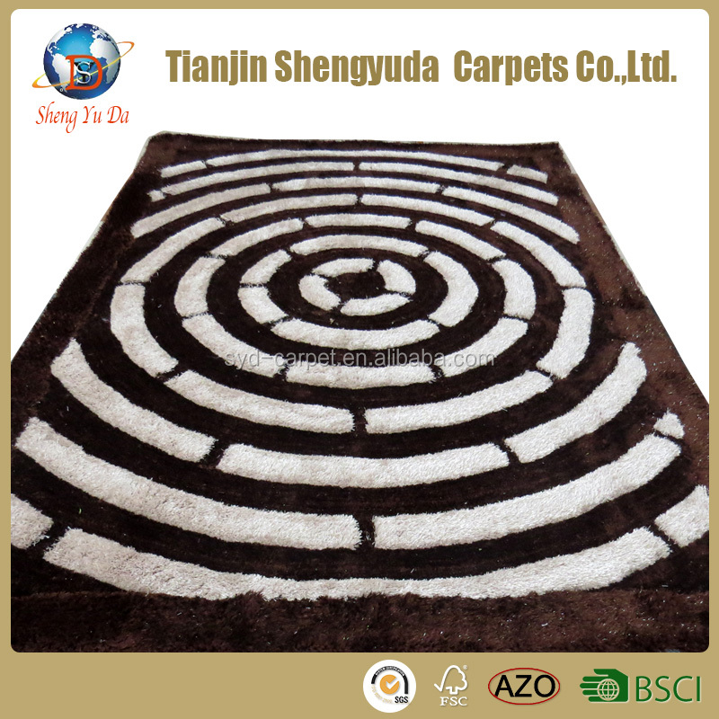 Fashion style area rugs pattern luxury carpet
