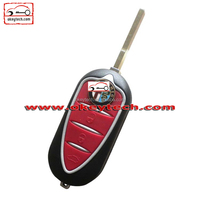 Best price car key blanks wholesale Alfa 3 button remote key shell key for car alfa romeo