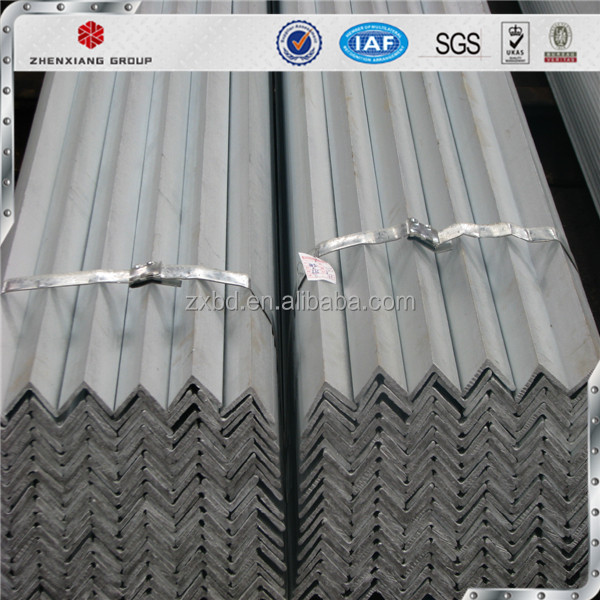 Galvanized steel angle bar with competitive price