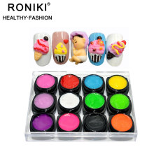 RONIKI 2018 High Quality Easy Apply Acrylic Nail Art Paint Uv Sculpting Gel